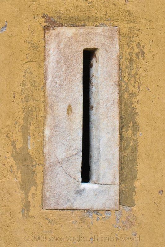 Mail hole