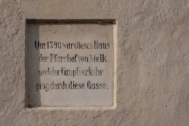 Memorial plaquette