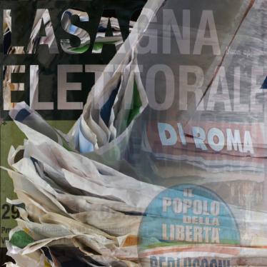 Római választási lasagna